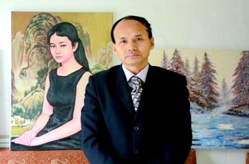 画家朱建新-名人百科-中国影响力人物数据库